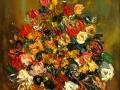 Букет роз (масло, холст, 60х73, 2003)