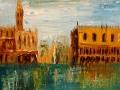 Венеция (масло, картон, 62х76, 2002)