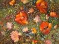 В поле (масло, холст 59x80, 2001)