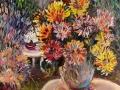 В саду (масло, холст, 71х90, 2012)