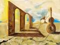 Дипломат (пастель, 50х62, 1998)