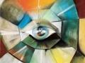 Око света (пастель, 50х62, 1998)