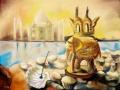Сандаловый слоник (пастель, 50х62, 1998)