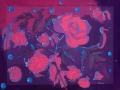 Пионы (шёлк, 80х64, 2008)